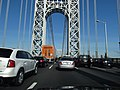 Crossing the George Washington Bridge into Manhattan, New York (7237797982).jpg