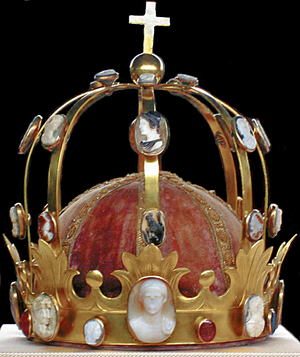 "Crown of Napoleon - The Crown of Napoleon created in the 19th century, called ""Crown of Charlemagne""."