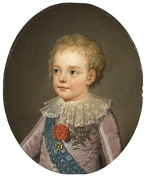 Louis Joseph, Dauphin of France - Image: Crownprince, Le Dauphin, Louis Joseph Xavier François of France (1781 1789) Nationalmuseum 132462