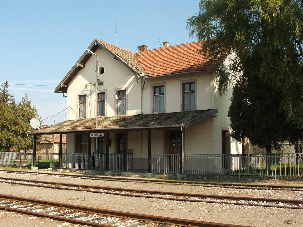 Csóka vasútállomás 1