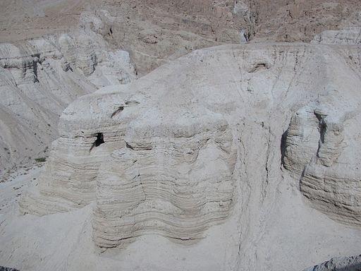 Cuevas donde se hallaron los manuscritos del mar muerto