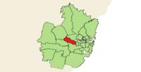 Cumberland LGA in der Metropolregion Sydney.png