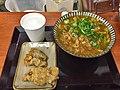 Curry udon and chicken tempura at Ibuki Udon, Kichijoji (36339448886).jpg