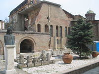 The remains of Curtea Veche, the royal court in Bucharest during the Middle Ages