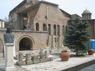 History of Bucharest - Curtea Veche, the old princely court