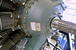 Curtis Wright R2600 engine detail - Evergreen Aviation & Space Museum - McMinnville, Oregon - DSC00501.jpg