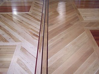 Wood flooring - Custom showroom