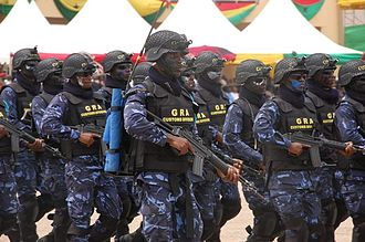 Border Guard Unit - Border Guard Unit (BGU) Special Forces Special Agent of the Customs Excise and Preventive Service (CEPS) Division of the Ghana Revenue Authority (GRA)