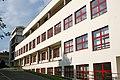 Dětská nemocnice Brno, pavilon F, západní fasáda.jpg