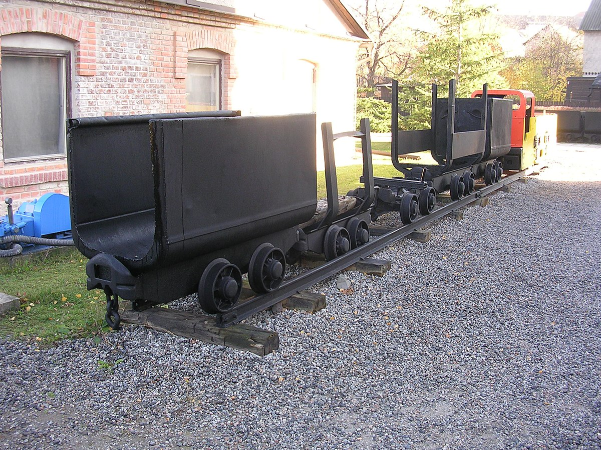 Шахтная вагонетка — Википедия