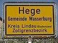 D-BY-Wasserburg (B)-Hege - Ortsschild.JPG