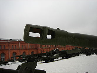 152 mm howitzer M1943 (D-1) - Image: D1 Saint Petersburg 3