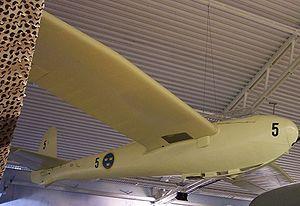 DFS Kranich - An AB Flygplan Se-103, a Swedish licence-built Kranich.