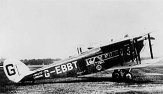 de Havilland DH.34 1922 airliner series by de Havilland
