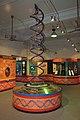 DNA Double Helix Model - Biotechnology Gallery - BITM - Kolkata 2010-06-25 6293.JPG