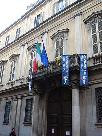 Museum of the Risorgimento (Milan) - Palazzo Moriggia