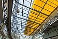 Dachkonstruktion im Stadtcenter Rolltreppe - Ladengeschäfte im Stadtzentrum von Halle Saale - panoramio (1).jpg