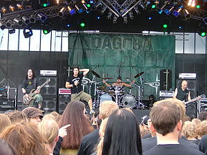 Dagoba (band) - Dagoba performing at SummerBreeze 2007