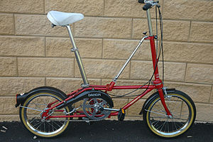 Dahon - 1980s (first generation) Dahon Classic III with Sturmey-Archer 3 speed hub gear