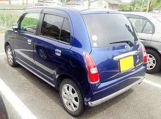 Daihatsu Mira Gino - Daihatsu Mira Gino rear