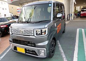 "Daihatsu WAKE G ""SA"" (LA700S) front.JPG"
