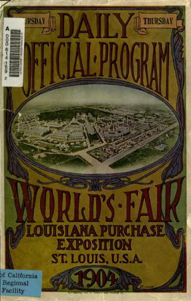 File:Daily Official Program June 16 1904 Louisiana Purchase Exposition.djvu