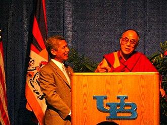 Thupten Jinpa - Dalai Lama with Thupten Jinpa, 18 September 2006