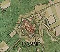 Damme, Belgium ; Ferraris Map.jpg