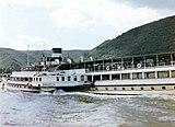 Dampfer Barbarossa, Rhein, 1958.jpg