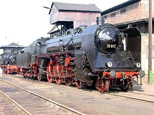 Saxon XX HV - Image: Dampflokomotive 19 017 Chemnitz Hilbersdorf