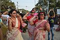 Dancing Devotees - Durga Idol Immersion Ceremony - Baja Kadamtala Ghat - Kolkata 2012-10-24 1692.JPG