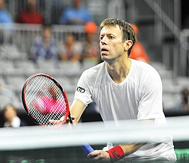 Daniel Nestor, Canada vs. The Netherlands Davis Cup (Sept. 2018).jpg