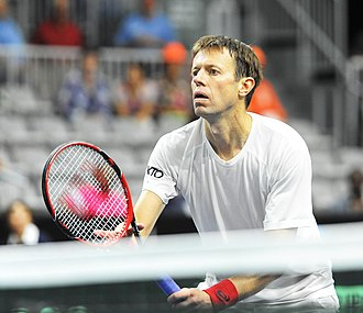 Daniel Nestor - Nestor at the Canada vs. The Netherlands Davis Cup (Sept. 2018)
