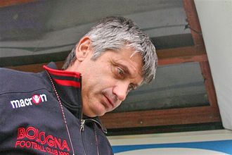 Frosinone Calcio - Daniele Arrigoni, manager of the Canarini in the 2003–04 season
