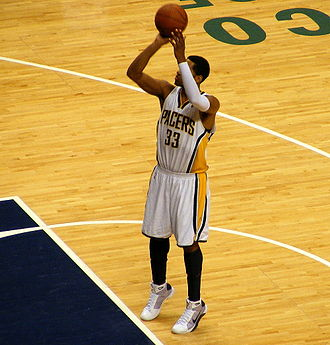 Indiana Pacers - Danny Granger led the team in scoring for five consecutive seasons