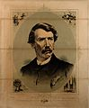 David Livingstone. Coloured lithograph. Wellcome V0006549.jpg