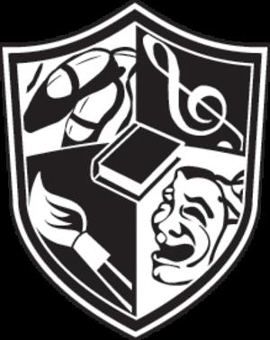John S. Davidson Fine Arts Magnet School - Image: Davidson crest