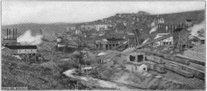 Thomas, West Virginia - Davis Coal and Coke Co Mining Operation at Thomas, WV
