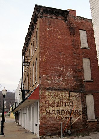 Dubuque, Iowa - Old store