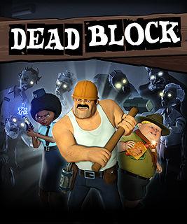 <i>Dead Block</i> video game