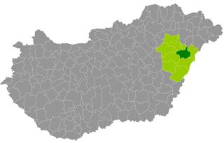 Debrecen District Districts of Hungary in Hajdú-Bihar
