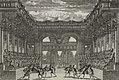 Decoration de Theatre du ballet de Thetis represente en machine au Petit Bourbon devant leurs Majesté de l'invention de Jacq. Torelli Italien (NYPL b12149071-1624134).jpg
