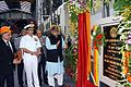 Defence Minister Arun Jaitley inaugurates the Module Work Shop at Mazagaon Dockyard Limited.jpg