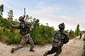 Defense.gov News Photo 110721-A-3108M-012 - An Army combat engineer throws a smoke grenade to provide cover for his engineers as they advance forward to establish a firing position during a.jpg