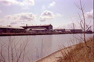 Defoe Shipbuilding Company - Defoe Shipbuilding Company abandoned 1981