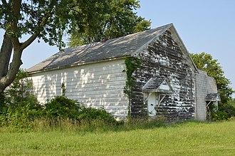 Delaware Township, Hancock County, Ohio - Old grange hall southeast of Mount Blanchard