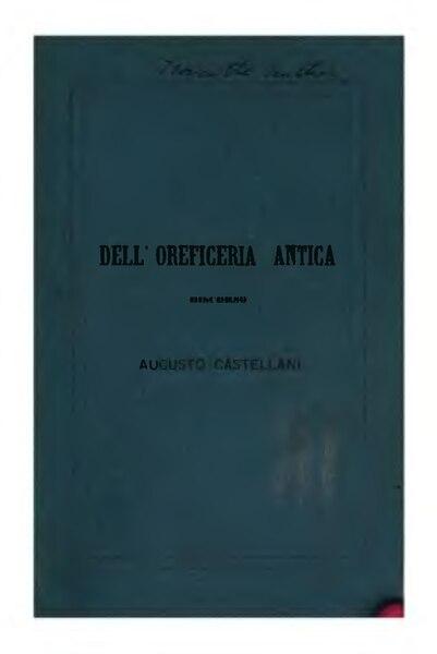 File:Dell'oreficeria antica.djvu