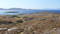 General view of Delos