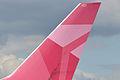 Delta 'Breast Cancer Research' scheme - Boeing 767-432ER (14017597612).jpg