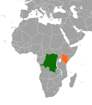 Diplomatic relations between the Democratic Republic of the Congo and the Republic of Kenya
